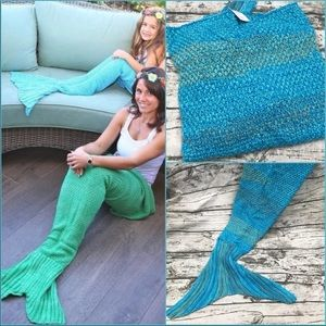 Other - 💎 NWT Mermaid Tail Blanket XS/S